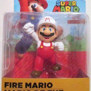 "Super Mario Bros 2.5"" Figurine Fire Mario 3+"